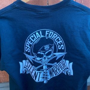 Special Forces Silent Warrior Tee